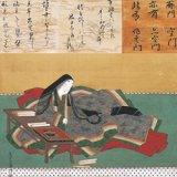 トレシー® 「源氏物語千年紀」記念 源氏物語 24×27cm 紫式部