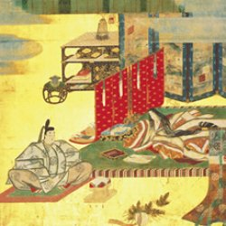 画像1: トレシー® 「源氏物語千年紀」記念 源氏物語 24×27cm 初音